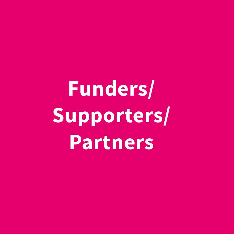 Funders - Supporters - Partners